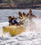 BANANA-EXTREME WATER SPORTS Royalty Free Stock Image