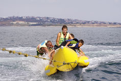 BANANA-EXTREME WATER SPORTS Stock Photos