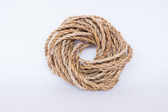 Banana fiber rope Royalty Free Stock Photo