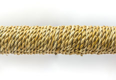 Banana fiber twist rope Stock Photography