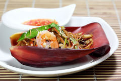 Banana Flower Salad Stock Image