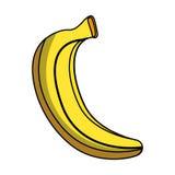 Banana fresh fruit icon Royalty Free Stock Image