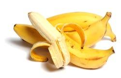 Banana. Fresh isolated white background Royalty Free Stock Images