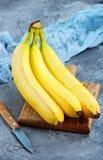 Banana. Fresh banana on a table, stock phooto Stock Images