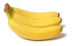 Banana. Fresh  white background Stock Image