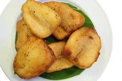 Banana fried Stock Photography