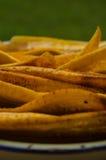 Banana fritada Imagem de Stock