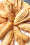Banana fritta Fotografia Stock