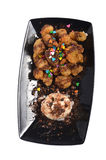 Banana fritters Stock Images