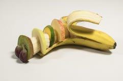 Banana Fruit Caterpillar Stack Stock Photography