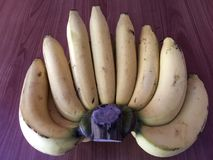The banana fruit is diet and healthy food Stock Photography