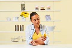 Banana fruit eating snack yellow health healthy diet peel split Royalty Free Stock Image