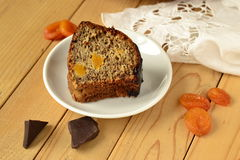 Banana fruitcake Royalty Free Stock Photos