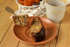 Banana fruitcake Stock Photography