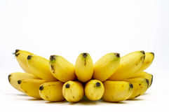 Banana fruits Stock Images