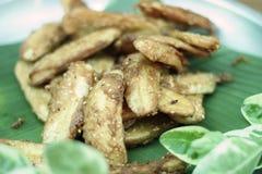 Banana fry Royalty Free Stock Image