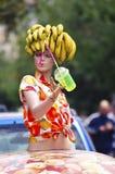 Banana  girl Stock Photography