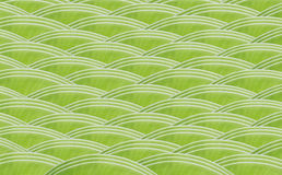 Banana green leaf design wave pattern Stock Photography