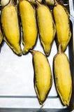 Banana grill Royalty Free Stock Images