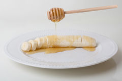 Banana With Honey Stock Image