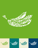 Banana icon Royalty Free Stock Photography