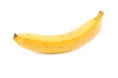 Banana isolada no branco imagem de stock royalty free