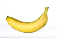 Banana isolata Immagini Stock Libere da Diritti