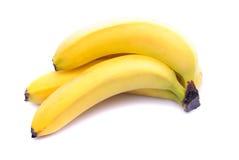 Banana isolated. Banana bunch isolated on white background royalty free stock photos