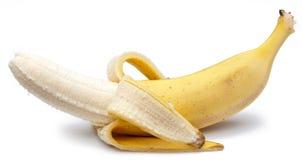 Free Banana Isolated On White Royalty Free Stock Image - 27756426