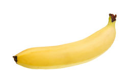 Banana isolated over white Royalty Free Stock Image