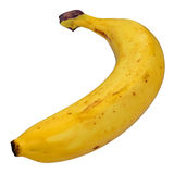 Banana isolated over white 3D Illustration Royalty Free Stock Photo