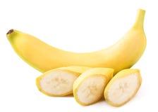 Banana isolated on white. Background Royalty Free Stock Photography