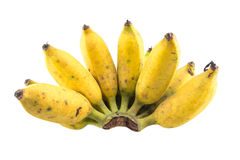 Banana isolated. On white background Royalty Free Stock Images