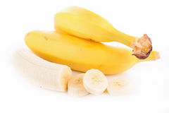 Banana isolated Stock Photo