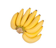 Banana isolated on white background Royalty Free Stock Photography