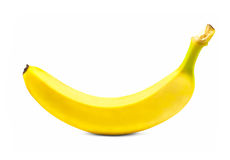 Banana isolated on white background Stock Image