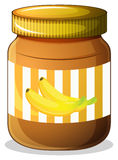 Banana jam Royalty Free Stock Photography