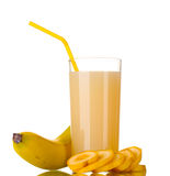 Banana juice Stock Photography