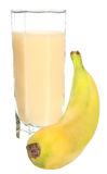 Banana juice Royalty Free Stock Image