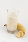 Banana juice with bananas Stock Image