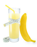 Banana juice Royalty Free Stock Photo