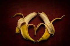Banana Kama Sutra Royalty Free Stock Photos
