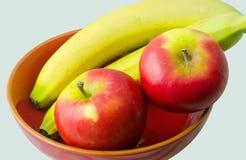 Banana and Kanzi Apple Royalty Free Stock Photo