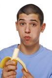 Banana kid Stock Photo