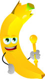 Banana king Royalty Free Stock Photo