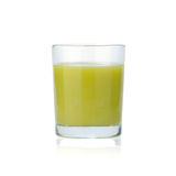 Banana and kiwi juice Royalty Free Stock Image