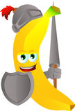 Banana knight Stock Photography