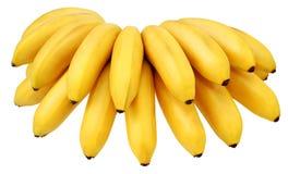 banana kolor żółty Zdjęcia Royalty Free