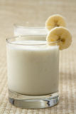 Banana Lassi Stock Photo