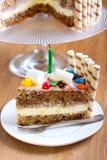 Banana layered cake Royalty Free Stock Photo
